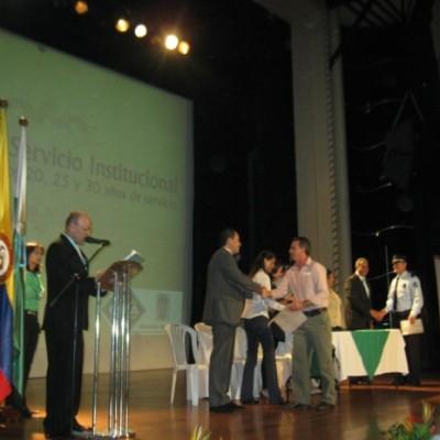 EXALTACIÓN AL MERITO 2011 ALCALDÍA DE MEDELLÍN