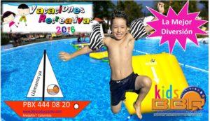 programas de vacaciones recreativos para niños Medellín